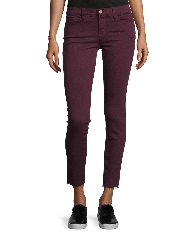 2a4d24e3f49f FRAME Le Skinny de Jeanne Raw Edge Jeans