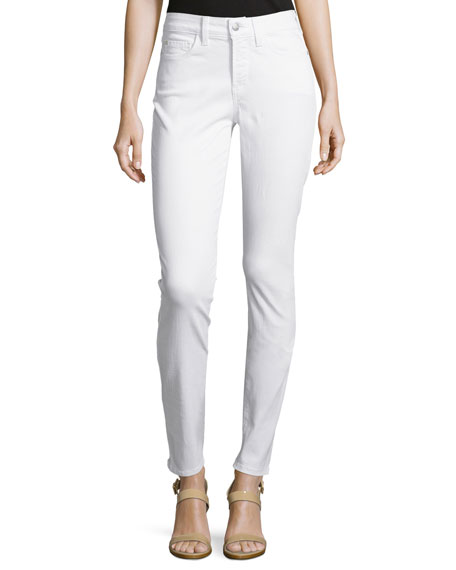 NYDJ Alina Legging Jeans, Optic White