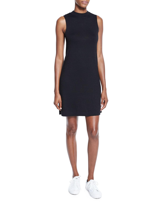 1e54b19ba1 rag   bone JEAN Hudson Mock-Neck Knit Shift Dress