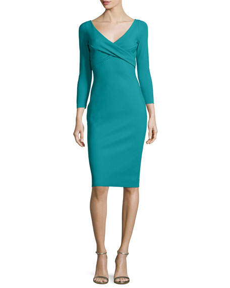 Chiara Boni La Petite Robe Melly Overlap Sheath