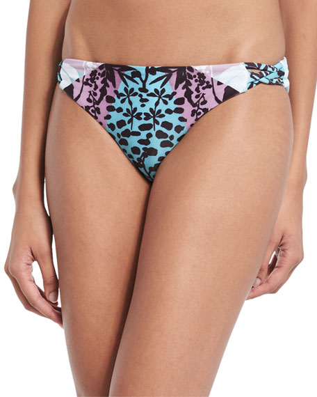 Mara Hoffman Verbena Basketweave Swim Bottom