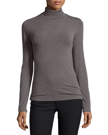 Majestic Paris for Neiman Marcus Soft Touch Turtleneck,