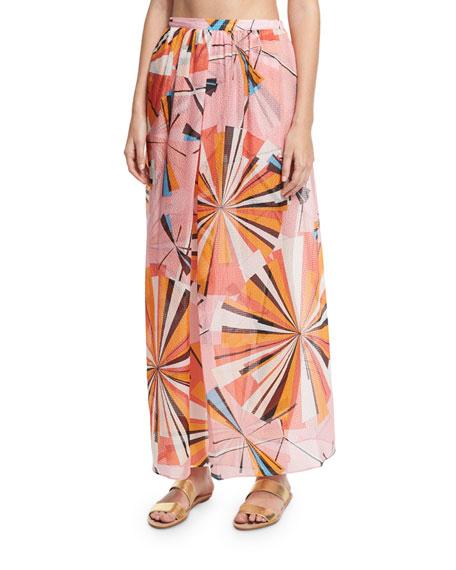 Emilio Pucci Parasol Bikini Set & Maxi Skirt