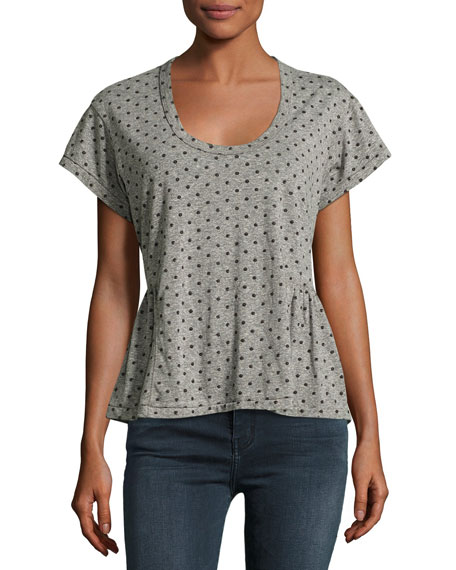 Current/Elliott The Girlie Tee, Heather Gray