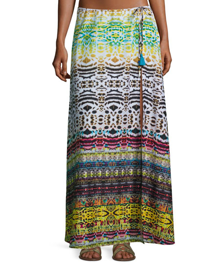 Ale by Alessandra Bengal Shore Slit Maxi Coverup