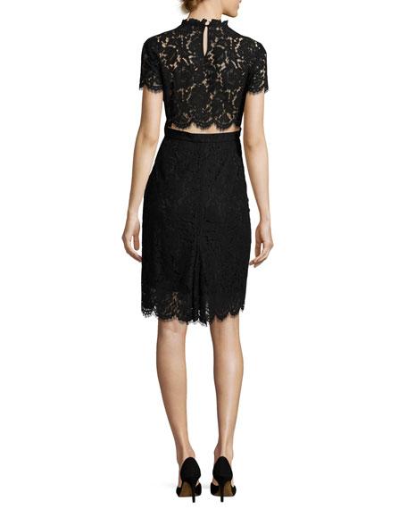 Alma Lace Sheath Dress
