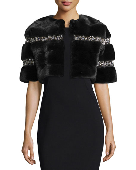 Fur & Faux Fur Coats : Bomber Jackets at Neiman Marcus