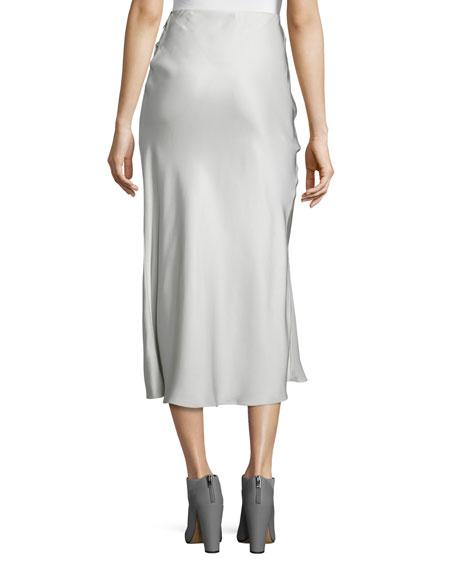 b5226866cc Calvin Klein Collection Kristina Silk Slim Midi Skirt | Neiman Marcus