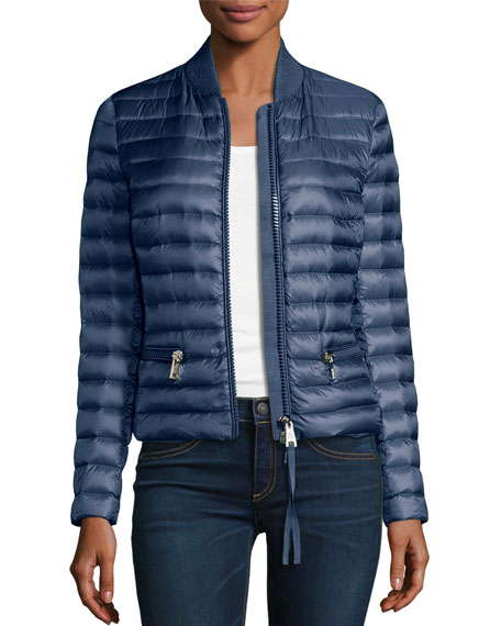 Moncler Blen Fitted Down Jacket