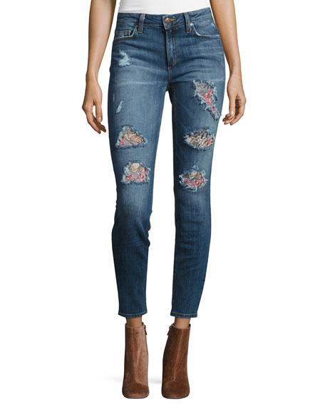 Joe's Jeans The Icon Mid-Rise Skinny Ankle Jeans,