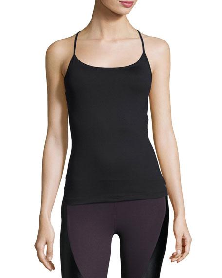 Koral Activewear Proximal Cross-Back Tank Top, Black