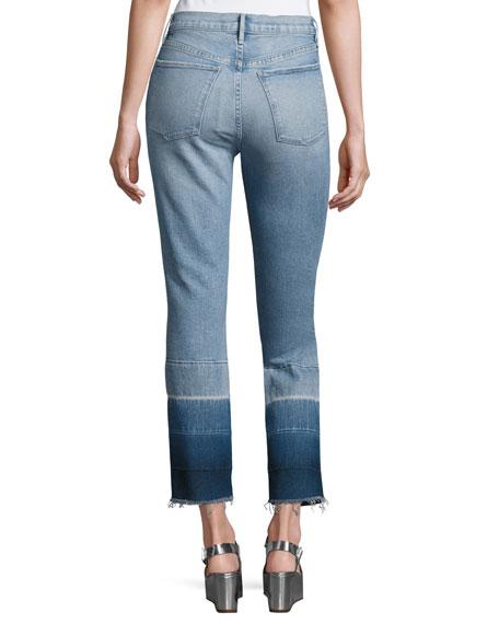 W4 Shelter Super High-Rise Straight-Leg Jeans, Spectrum