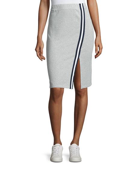 Varsity Active Side-Slit Pencil Skirt
