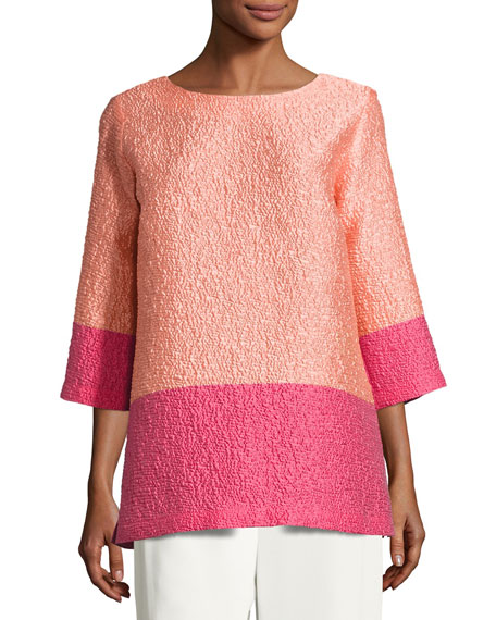 Caroline Rose Colorblock Cloque Tunic and Matching Items