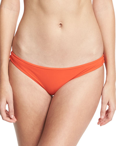 Classic Bikini Swim Bikini Bottom, Red