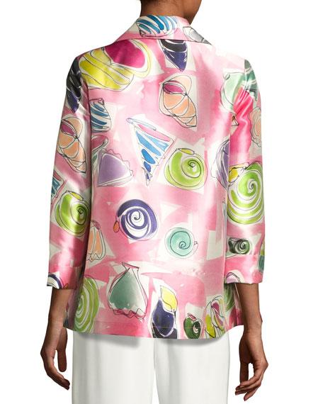 Beachy Keen Printed Lady Jacket