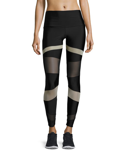 Bondage Paneled High-Rise Legging