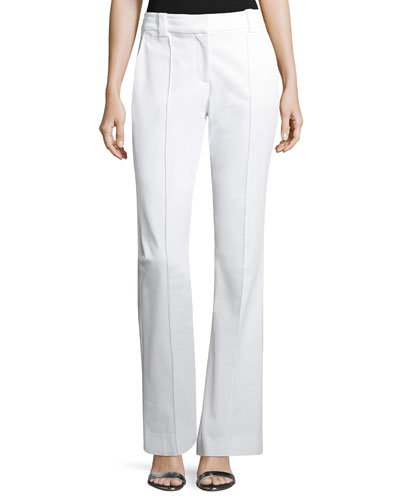 Joseph Boot-Cut Gabardine Pants