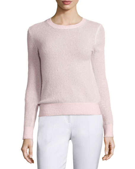 Michael Kors Long-Sleeve Cashmere-Blend Sweater
