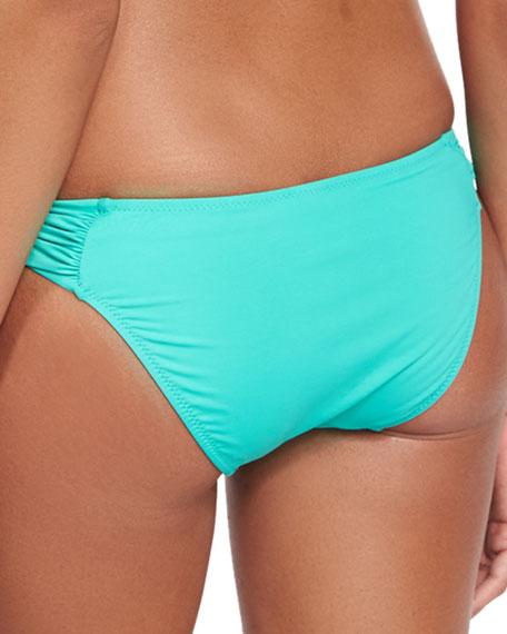 Maia Solid Swim Bikini Bottom, Casale