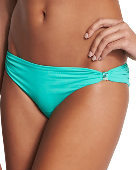 Lazul Maia Solid Swim Bikini Bottom, Casale