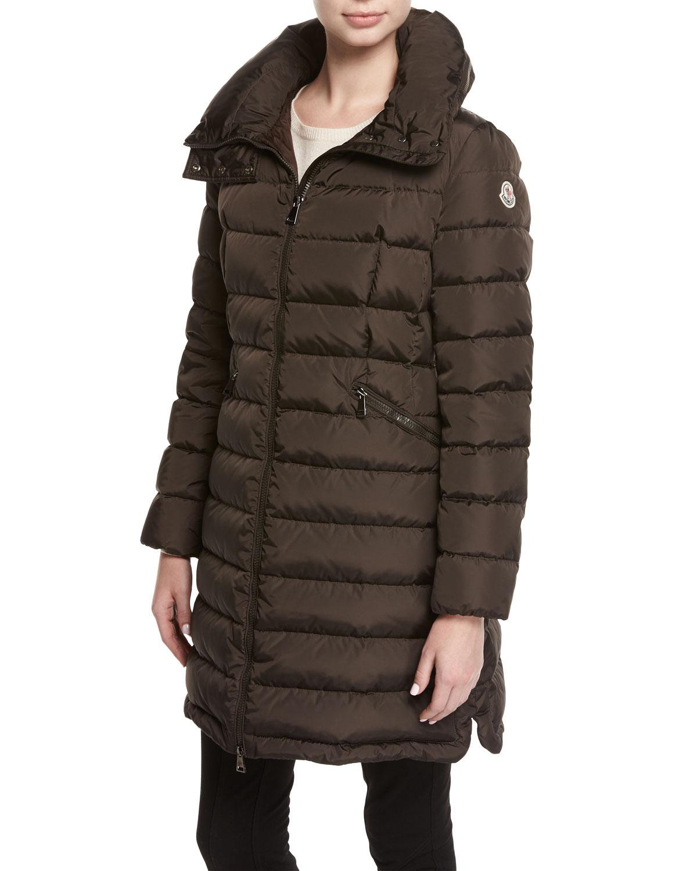 5be6d4a11 Flammette Puffer Coat w/ Packable Hood