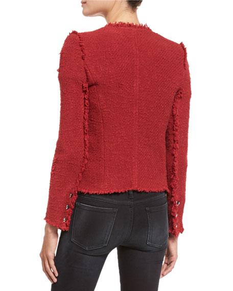Iro Agnette Cropped Boucle Jacket