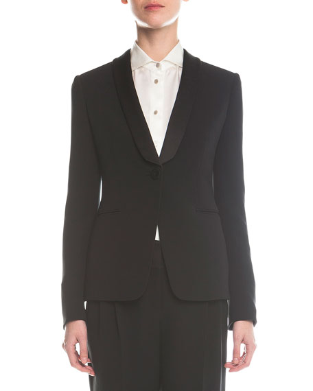 Giorgio Armani Single-Button Tuxedo Jacket