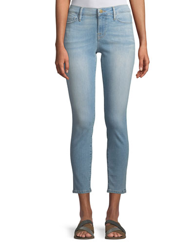 Le Skinny Cropped Low-Rise Jeans, Georgiana