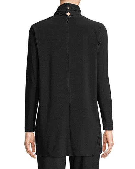 Caroline Rose Long-Sleeve Knit Turtleneck, Plus Size