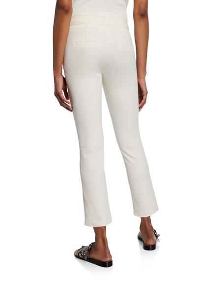 Image 2 of 2: Veronica Beard Metro Cropped Kick Flare Pants