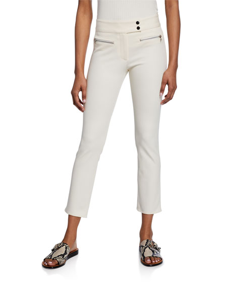 Image 1 of 2: Veronica Beard Metro Cropped Kick Flare Pants