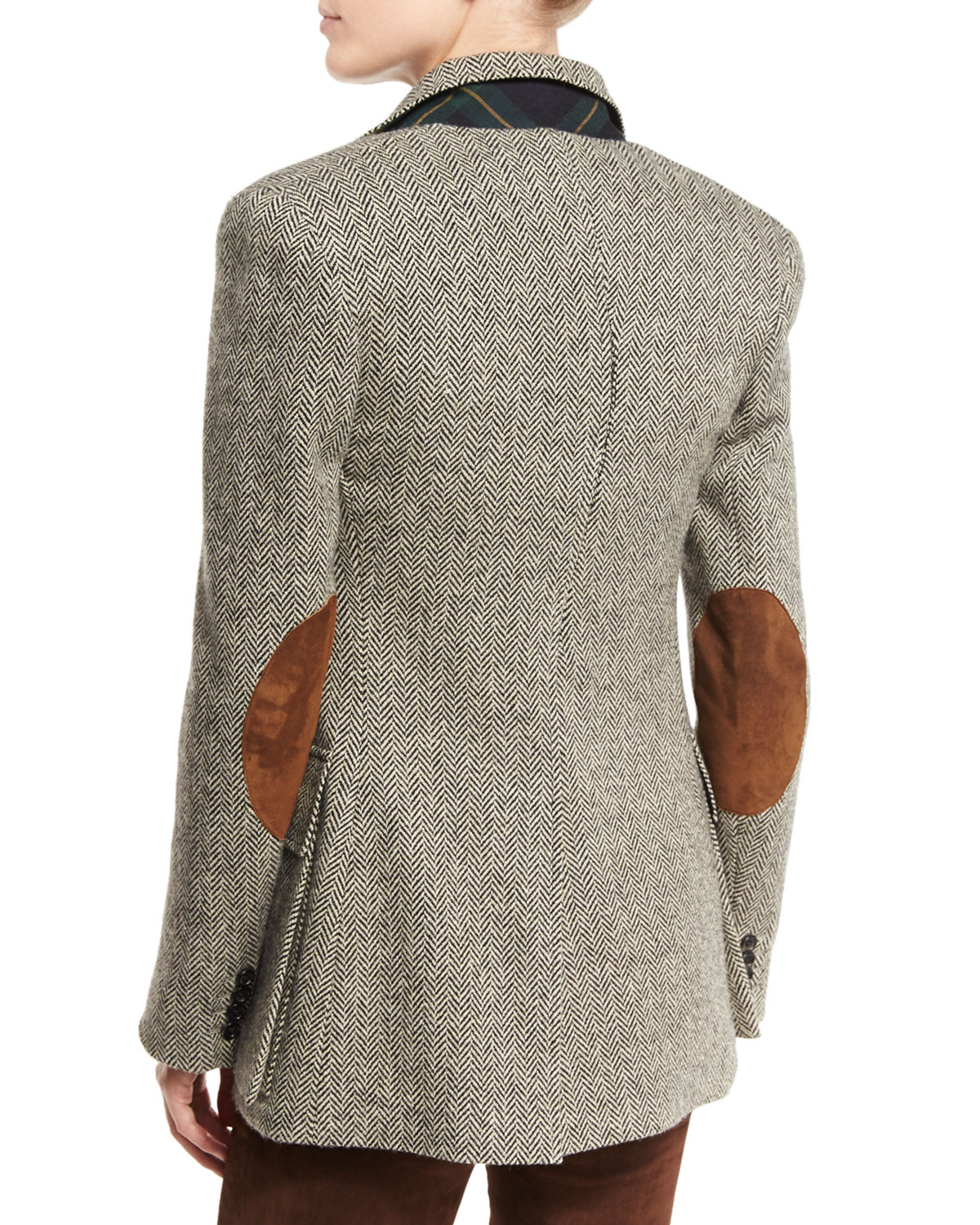 The Tweed Jacket, Black/White by Ralph Lauren Collection