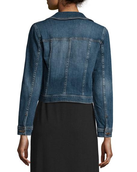 Eileen Fisher Denim Cropped Jacket