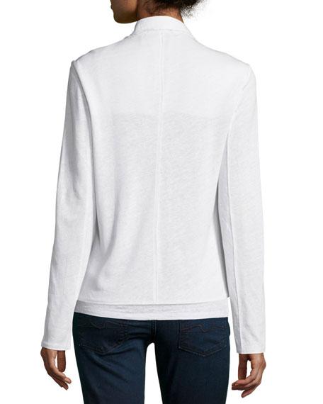 Linen Woven Blazer