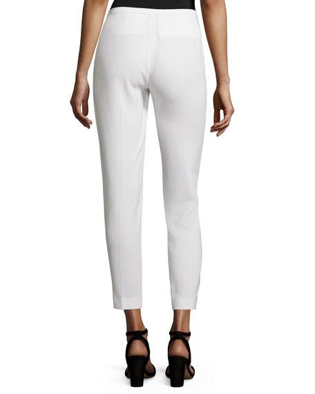 Marcia Straight-Leg Pants, Black