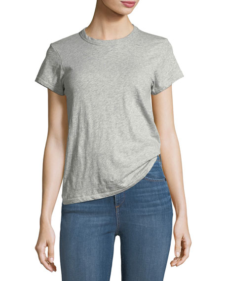 rag & bone/JEAN The Crewneck Tee, White