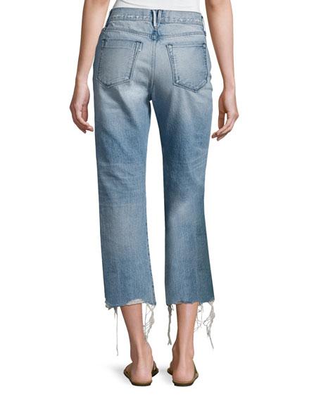 W3 Cropped Boyfriend Jeans, Higher Ground