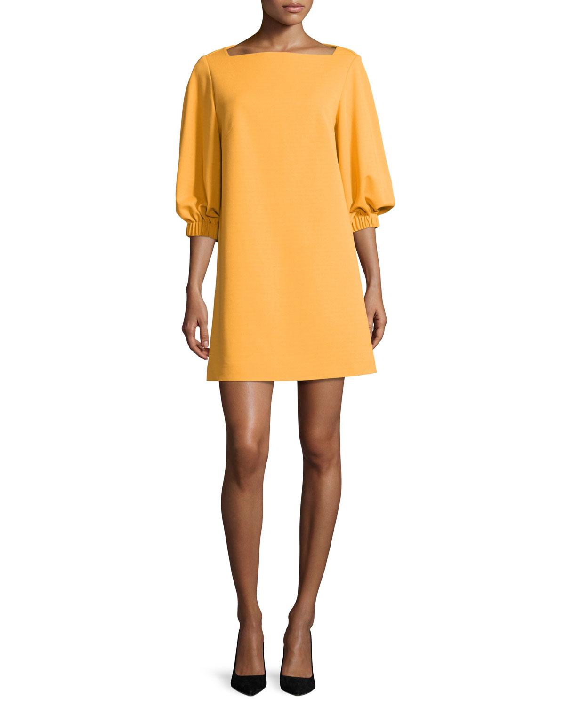Tibi Bateau Neck Mini Dress Cheap Cheap Sale Sneakernews PLZ5R4B