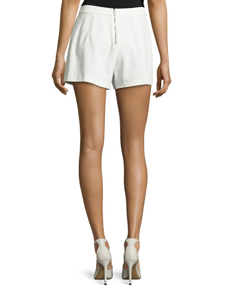 Larissa Single-Pleat Shorts