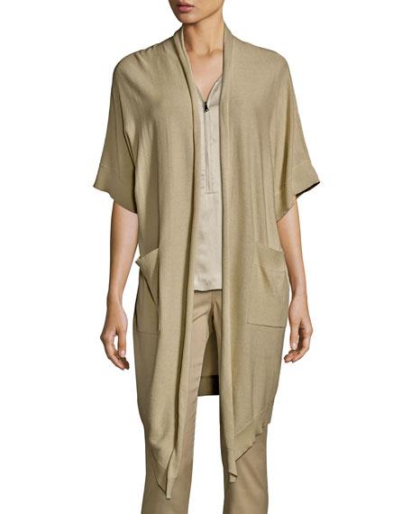 Go by Go Silk Go Cardi Half-Sleeve Cardigan,