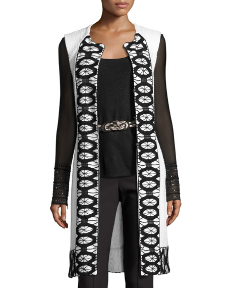 St. John Collection Belt, Leggings & Vest