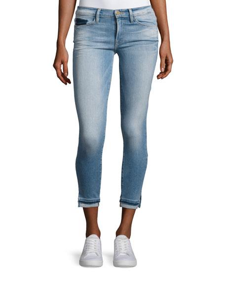 FRAME Le Skinny de Jeanne Cropped Jeans, Benton