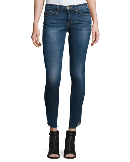 FRAME Le Skinny de Jeanne Jeans with Tulip