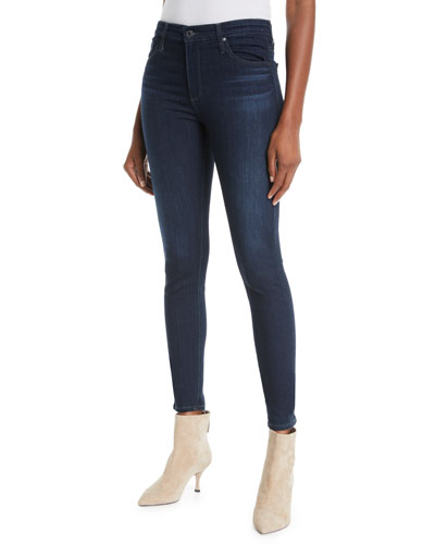 The Farrah High-Rise Skinny Jeans  Brooks
