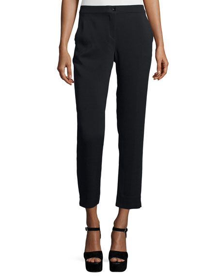 Etro Cady Capri Pants, Black
