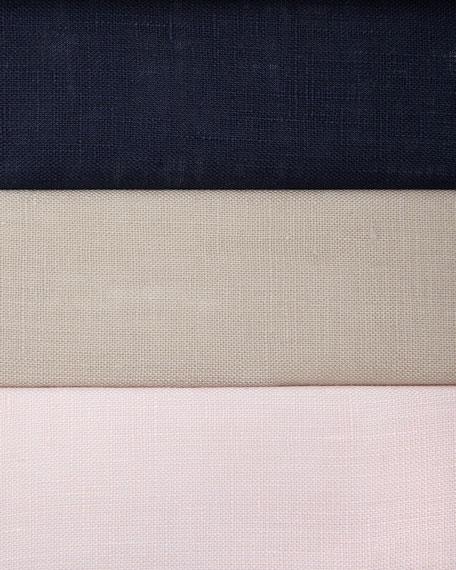 Linen Button-Front Shell, Petite