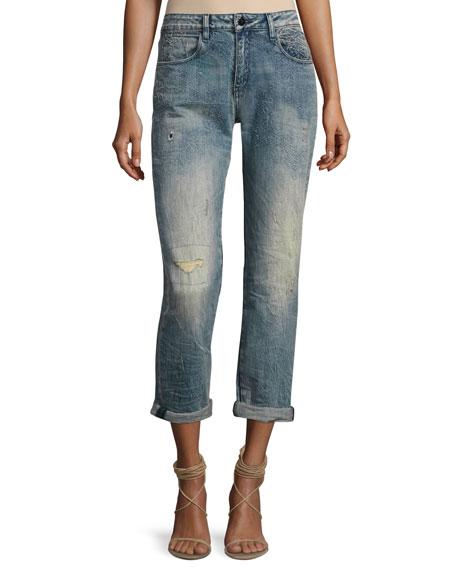 Brockenbow Charlotte Mid-Rise Boyfriend Jeans, Al Rosace