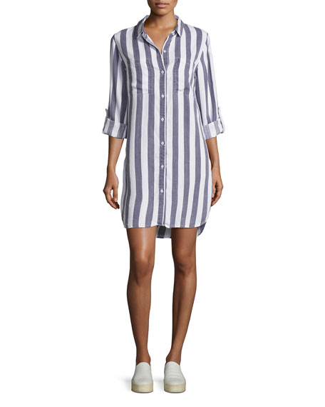 Rails Julian Striped Shirt Dress