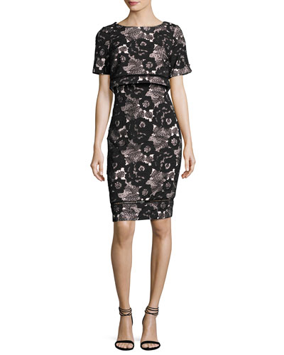 Badgley Mischka Clothing : Dresses &amp Gowns at Neiman Marcus
